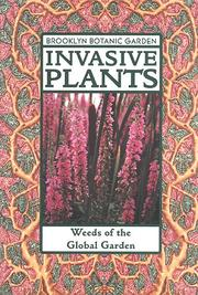 Cover of: Invasive plants | John M. Randall & Janet Marinelli, editors.