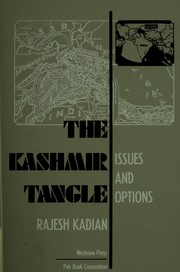 Cover of: The Kashmir tangle