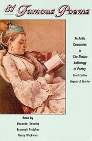 Cover of: 81 Famous Poems | Various Artists