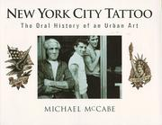 Cover of: New York City Tattoo | McCabe, Michael