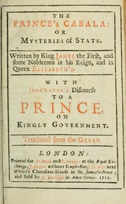 Cover of: The prince's cabala
