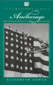 Cover of: Anchorage | Elizabeth A. Tower