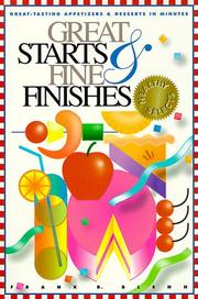 Cover of: Great starts & fine finishes | Frank R. Blenn