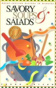 Cover of: Savory soups & salads
