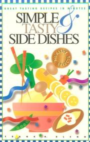 Cover of: Simple & tasty side dishes