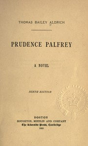Cover of: Prudence Palfrey, a novel
