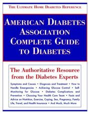 Cover of: American Diabetes Association Complete Guide to Diabetes