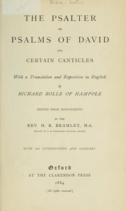 Cover of: The Psalter