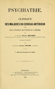 Cover of: Psychiatrie