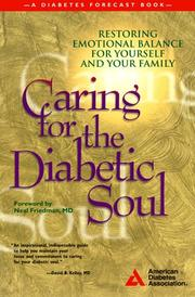 Cover of: Caring for the diabetic soul