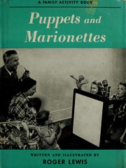 Cover of: Puppets and marionettes | Harry Zarchy