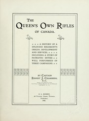 Cover of: The Queen's Own Rifles of Canada