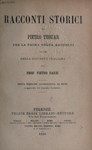 Cover of: Racconti storici