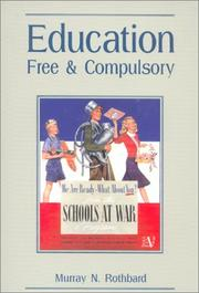 Cover of: Education, free and compulsory