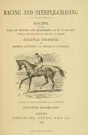 Cover of: Racing and steeple-chasing | Suffolk and Berkshire, Henry Charles Howard Earl of