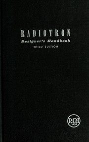 Cover of: The radiotron designer