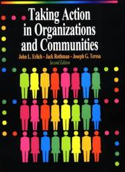 Cover of: Taking action in organizations and communities