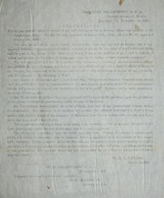 Cover of: Regulations for the payment of claims for arrears of pay and allowances due to deceased officers and soldiers of the Confederate Army: Per Act no. 402, approved February 15th, 1862, and Act no. 30, approved October 8th, 1862