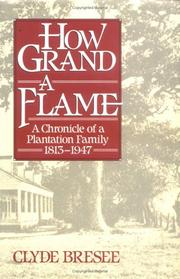 Cover of: How grand a flame