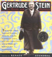 Cover of: Gertrude Stein | Renate Stendhal