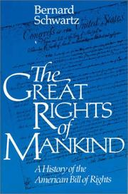 Cover of: The great rights of mankind