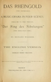 Cover of: Ring des Nibelungen