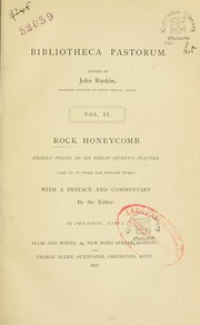 Cover of: Rock honeycomb
