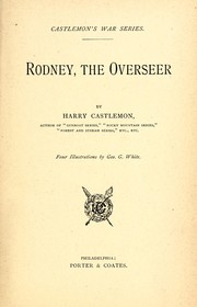 Cover of: Rodney, the overseer