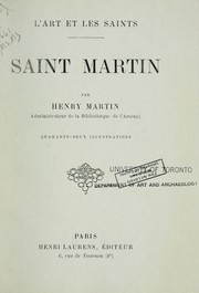 Cover of: Saint Martin