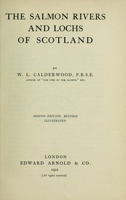 Cover of: The salmon rivers and lochs of Scotland