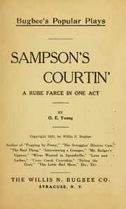 Cover of: Sampson