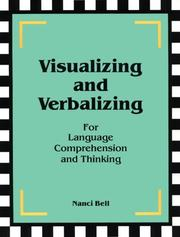 Cover of: Visualizing and Verbalizing