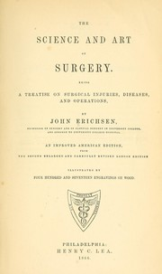 Cover of: The science and art of surgery