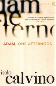Cover of: Adam, One Afternoon: and other stories