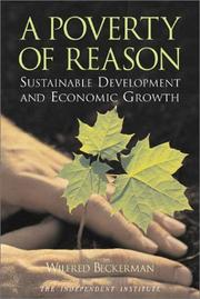 Cover of: A poverty of reason
