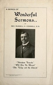 Cover of: A series of wonderful sermons