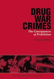 Cover of: Drug War Crimes | Jeffrey A. Miron