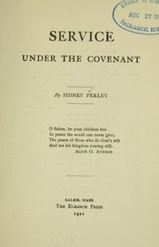 Cover of: Service under the covenant