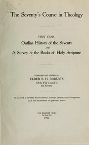 Cover of: The Seventy's course in theology