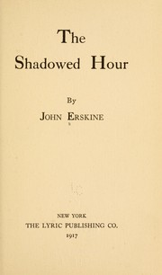 Cover of: The shadowed hour