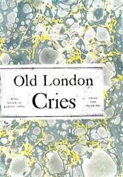 Cover of: Old London Street Cries