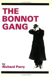 Cover of: The Bonnot gang