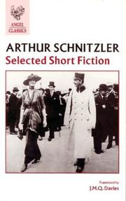 Cover of: Selected short fiction