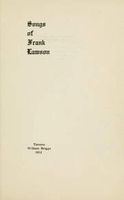 Cover of: Songs of Frank Lawson