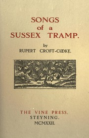Cover of: Songs of a Sussex tramp