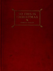 Cover of: So this is Christmas!: and other Christmas stories