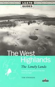 Cover of: The West Highlands | Tom Atkinson