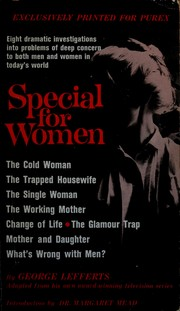 Cover of: Special for women
