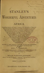 Cover of: Stanley's wonderful adventures in Africa