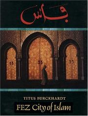 Cover of: Fez, city of Islam